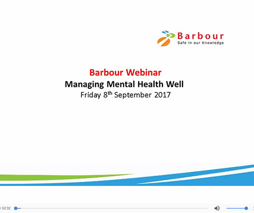 Mental health, webinar, wellbeing