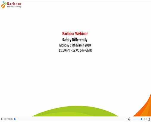 Safety Differently webinar