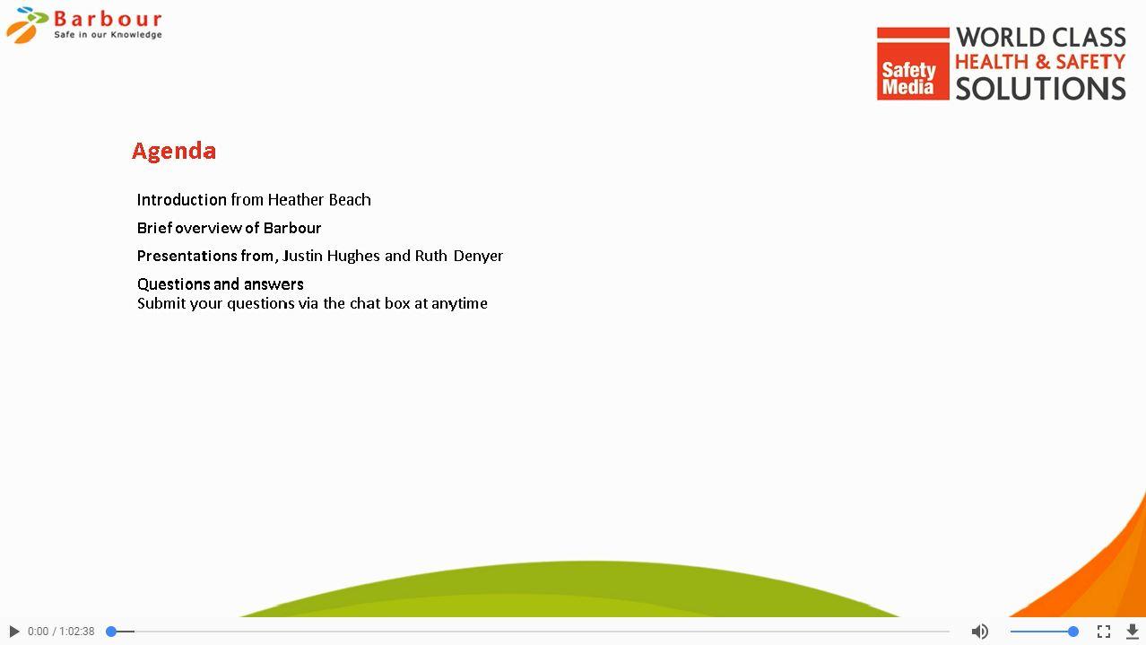 Risk Assessment webinar